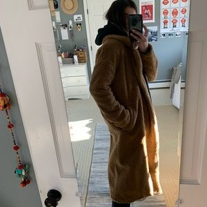 Urban Outfitters Jackets & Coats - UO Light Before Dark Double-Breasted Teddy Coat
